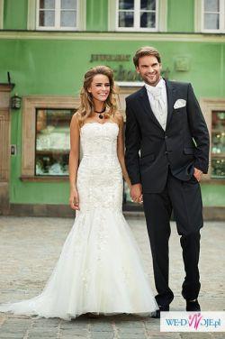 Sprzedan suknię ślubną rybka syrenka annais tivoli lamia