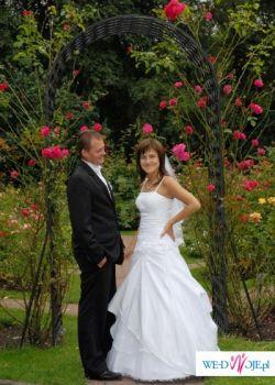 Sprzedasm śliczną skuknię ślubną