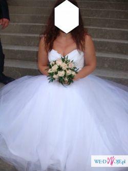 Sprzeddam suknie ślubną typu Princessa