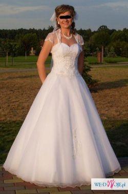 """Sprzedma suknie ślubną """"Calineczka"""""""