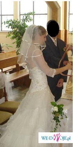 Sprzekam suknię ślubną