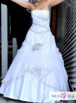 Sptrzedam suknię ślubną