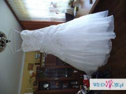 spzredam suknie ślubną