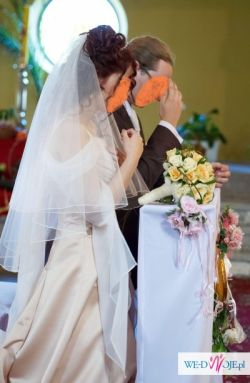 średniowieczna Suknia ślubna Zwiewne Rękawy Nietypowy Odpinany