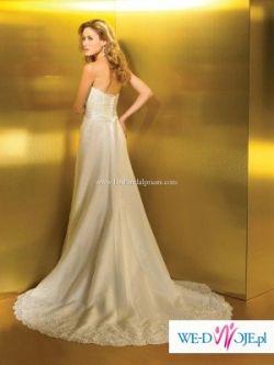 Subtelna i delikatna suknia ślubna Allure 2207