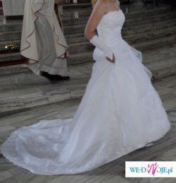 Subtelna i wyjątkowa suknia ślubna