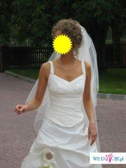 Subtelna suknia ślubna Margarett 2007!