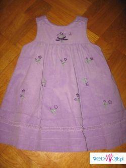 Sukienka + body SOPHIE ROSE NOWA 4T USA