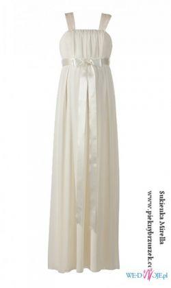 Sukienka ciążowa ślubna Mirella II