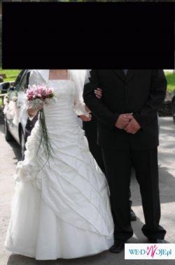 sukienka Elizabeth Konin Kolekcja 2008, rozmiar 38, ecru