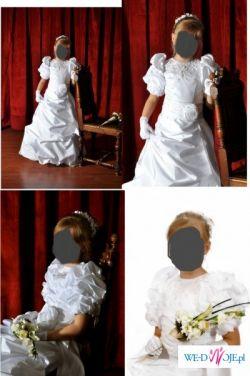 9bebee3ad0 Sukienka komunijna - Ubranka komunijne - Ogłoszenie - Komis