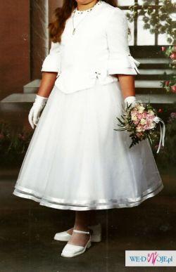 Sukienka komunijna z kołem Łódź