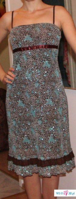 Sukienka panterka!