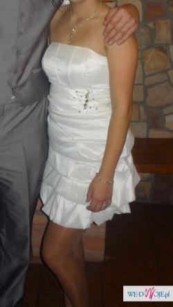 Sukienka poprawinowa