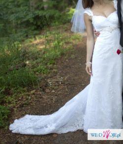Sukienka Ślubna (Koronkowa) + welon :)