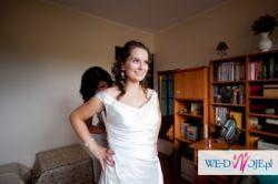 Sukienka ślubna Margarett model Ada, ciążowa