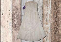 Sukienka ślubna midi nowa