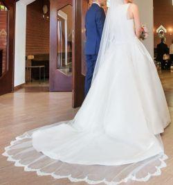 Sukienka ślubna Pronovias model BARCAZA