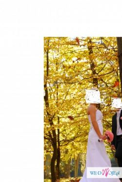 Sukienka ślubna r.36