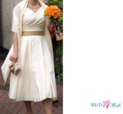 Sukienka ślubna w stylu lat 50