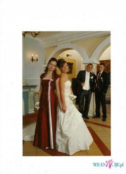 Sukienka SPOOSA MODEL PATRYCJIA ECRU 38