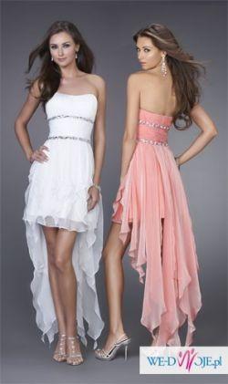 Sukienka z trenem, XS