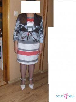 sukienka , żakiet plus buty