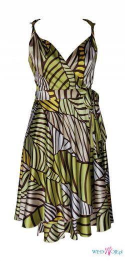 Sukienka Zielona Natura