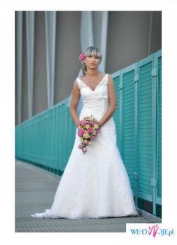 Sukinia ślubna z salonu Maonna model White One 450
