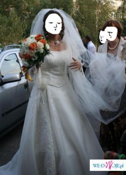 Sukni ślubna firmy Margarett, model Micheal Angelo