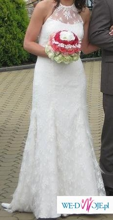 Suknia Agnes 1512, fason rybka, rozmiar 38