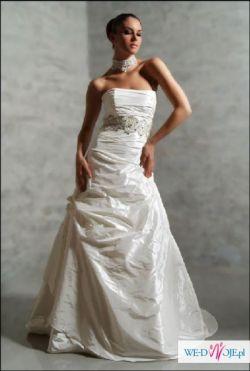 Suknia Agnes 1752 + 2 pary butów + 2 welony + pończochy