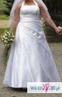 Suknia AGNES biała