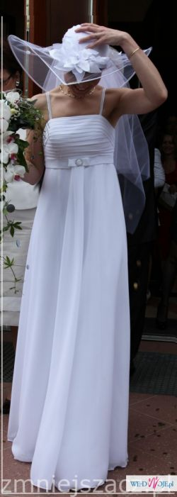 Suknia Agnes biala