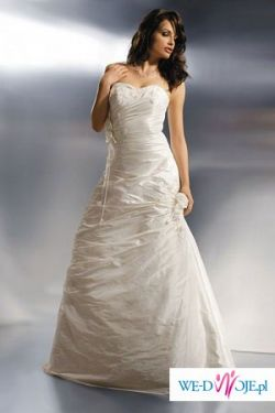 Suknia Agnes model 1600 wzrost 165 rozmiar 38