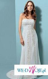 suknia Alfred Angelo ze Stanów Zjednoczonych