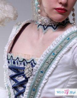 Suknia barokowa. Nietypowa suknia ślubna