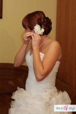 Suknia biała styl hiszpański ANNAIS BRIDAL