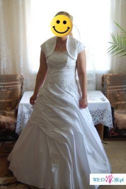 Suknia +bolerko
