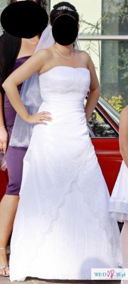 Suknia Danalea - producent Gala, Biała, rozmiar 38-40