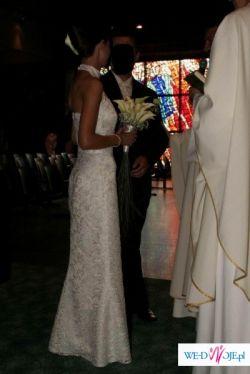Suknia Dante 2008 ale  wg własnego projektu :)