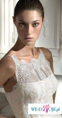 Suknia Daven z hiszpańskiej koronki