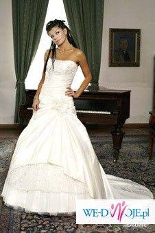 suknia Dione z salonu Angel, ecri