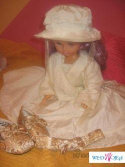 Suknia dla księżniczki na chrzest lub wesele