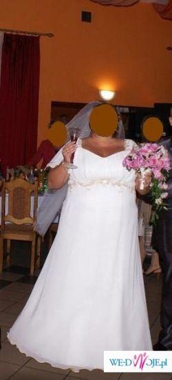 Suknia dla puszystej :)