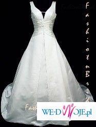 Suknia dla wysokiej (180) i puszystej , z pięknym biustem ;-)