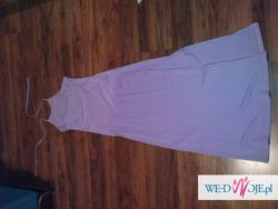 Suknia długa - jasny fiolet