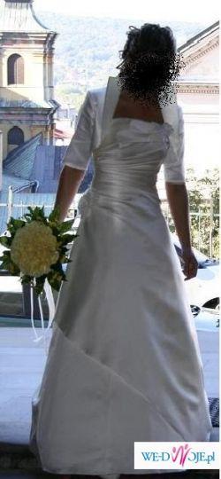 suknia ecru ESTERA r. 36