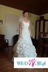 suknia ekri rozmiar38