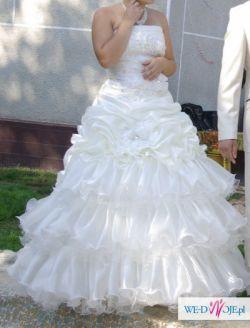 Suknia elegancka, ślubna